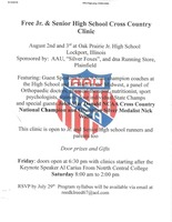 Free Cross Country Clinic
