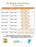 Rx Mobile Food Pantry Upcoming Dates
