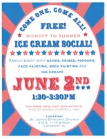 St. John's Ice Cream Social