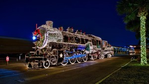 Fairmont Polar Express Parade
